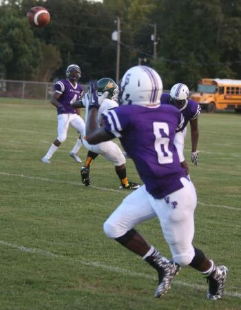 Ville Platte Receiver Jaishaun Doucet Looks To Haul In A Pass From  Quarterback Terez Alfred In Last Weeku0027s 30 0 Win Over Mamou. Ville Platte  Will Host The ...